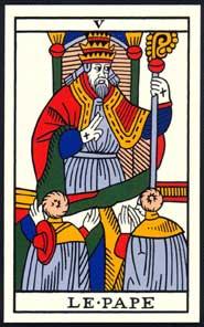 arcano mayor el sumo sacerdote